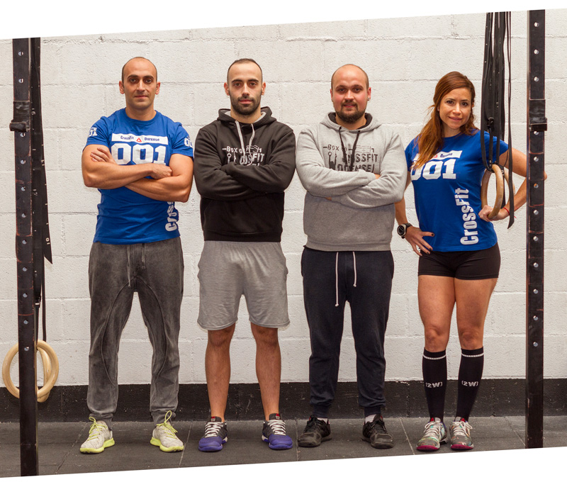 Entrenadores CrossFit Ourense