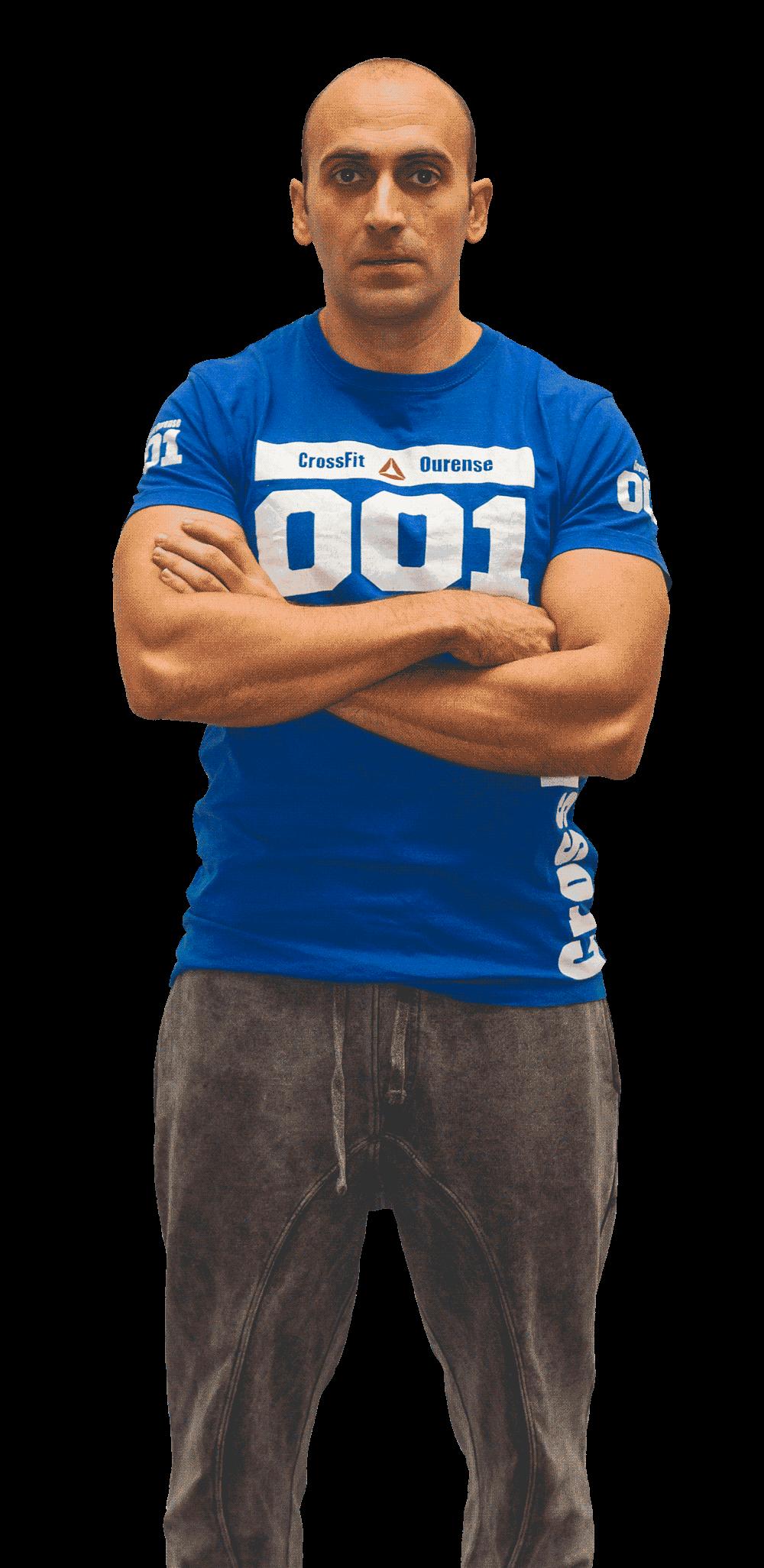 Rubén González CrossFit Ourense
